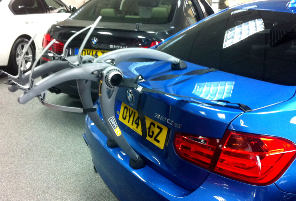 Bmw 3 Series F30 Bike Rack Car Bike Racks Amp Bike Carriers