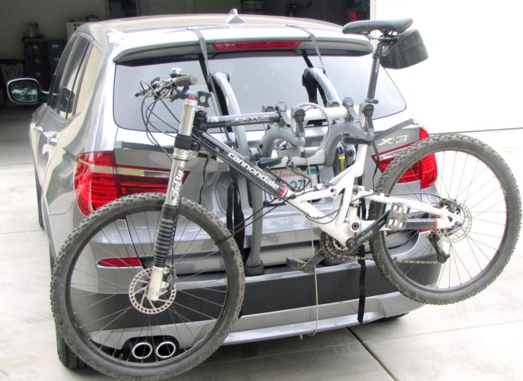 Bmw X3 Bike Rack Modern Arc Based Design For 2 Or 3 Bikes