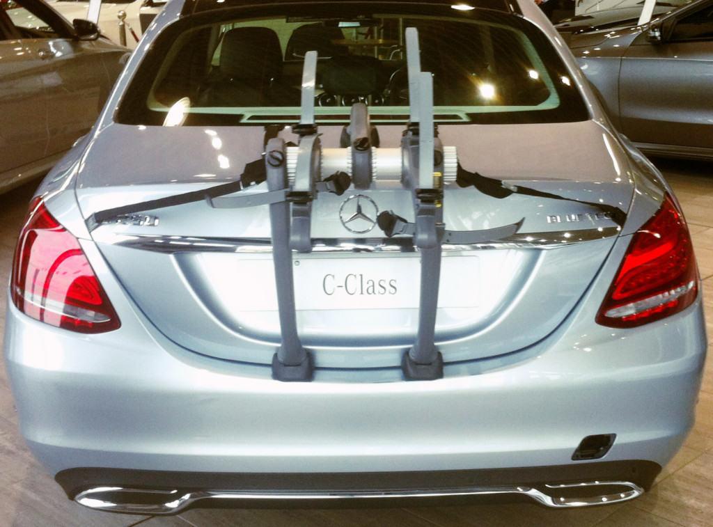Mercedes C Class Saloon Bike Rack Modern Arc Based Design