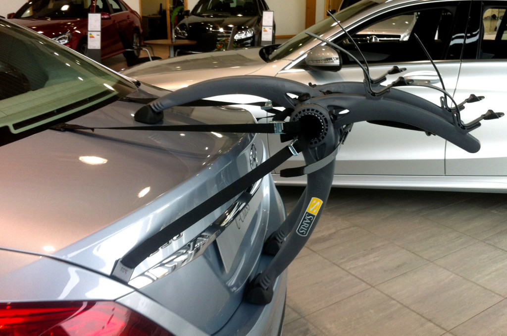 Jaguar Xf Bike Rack Modern Arc Based Design Holds 2 Or 3