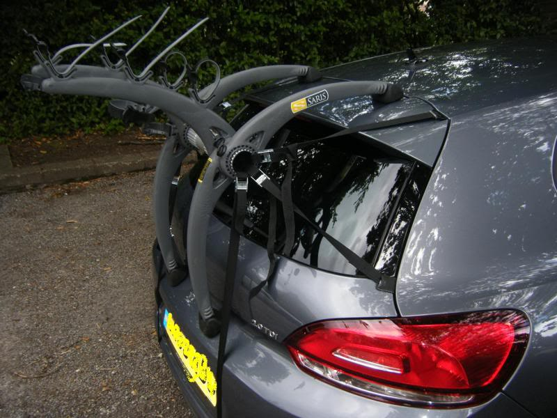Volkswagen Scirocco Bike Rack Modern Arc Based Design